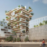 Nouvelle-Aquitaine : Bordeaux : des tours en bois énergétiquement sobres