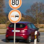 Les routes nationales bientôt limitées à 80 km/h?