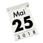 25 mai 2018