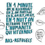 Belgique : Les migrants du parc Maximilien dorment chez l'habitant