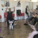 Nao, le robot star des EHPAD à Issy-les-Moulineaux