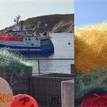 Le port du Conquet recycle ses filets de pêche